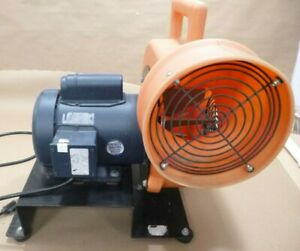 Allegro 9531 Centrifugal Heavy Duty Blower W Leeson 112135 3 4hp 1phase Motor