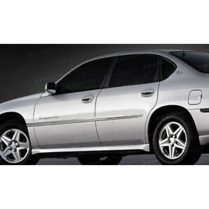 Ses Chrome Door Molding Trim For 2000 2005 Chevy Impala