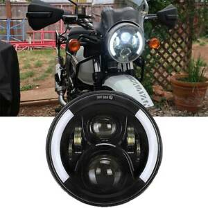 For 2018 2019 Royal Enfield Himalayan 7 inch Motorcycle Led Projector Headlight