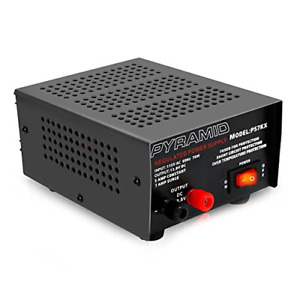 Universal Compact Bench Power Supply 5 Amp Linear Regulated Home Lab Benchtop