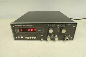 Marconi Instruments 6155a Rf Signal Source 1 0 2 0 Ghz T126763