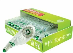 American Tombow 68721 Tombow Mono Hybrid Correction Tape 10 pack Free Shipping