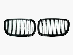 Grilles X5m Style Piano Gloss Black Front Hood Grille 07 13 For Bmw E70 X5