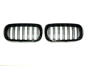 Grilles X5m Style Piano Gloss Black Front Hood Grille 14 18 For Bmw F15 X5