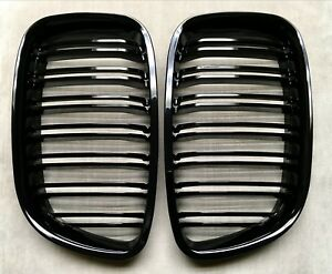 Grilles M Style Piano Gloss Black Front Hood Grille For 10 17 F07 Gt 535i 550i
