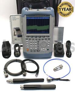 Rohde Schwarz Fsh8 R s 8 28 Handheld Spectrum Analyzer W Vswr Bridge Fsh 8ghz