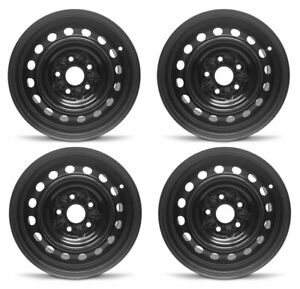 New Set Of 4 15 X 6 5 Replacement Steel Wheel Rim For 2002 2006 Toyota Camry