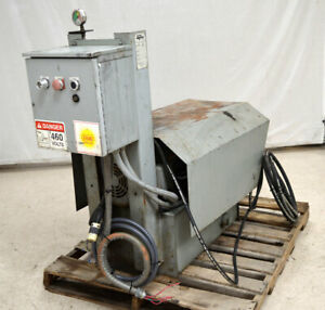 Marathon Rj 250 Sc Industrial Trash Compactor Hydraulic Unit 24 75 ton 3ph 10 hp