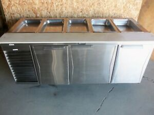 Randell Model 9045k Prep Table Refrigeration Cooler 3 Door Sandwich Station 120v