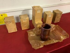 Nos Lot Of 5 Triumph Tr2 tr4a Engine Cylinder Sleeves 122166 H