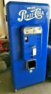 Pepsi Machine Vmc 88 lots Of Chrome museum Quality collector Machine