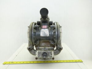 Sandpiper Sb1 a Sgn 2 ss 1 Npt Stainless Steel Pneumatic Diaphragm Pump