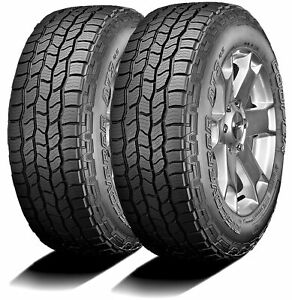 2 Cooper Discoverer At3 4s 245 75r16 111t A T All Terrain Tires
