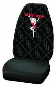 Plasticolor 006914r01 Betty Boop Chainlink High Back Seat Cover