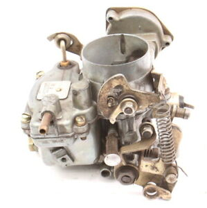 Weber Single Port Carburetor Carb Fits Vw Beetle Bus Bug Ghia Aircooled W 223065
