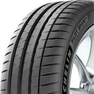 One New Michelin Pilot Sport 4 215 40r18 85y High Performance Tire