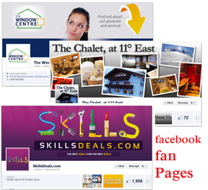 Professional Facebook Pages For You Nice Looking Best Service low Price