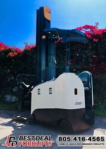 19 Refurbished 2015 Crown Rm6095s 45 Reach Trucks 140 321 Masts Low Hours