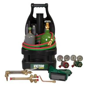 Victor 0384 0944 G150 100 cpt Portable Tote Outfit With Tanks