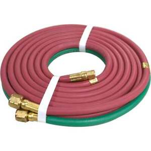 Miller Smith Ra921 Grade R Ab Cutting Torch Hose 12 6 X 3 16
