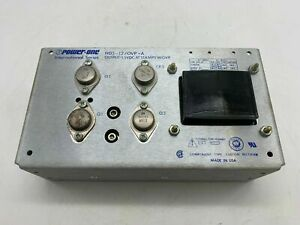 Power One Hd5 12 ovp a Power Supply