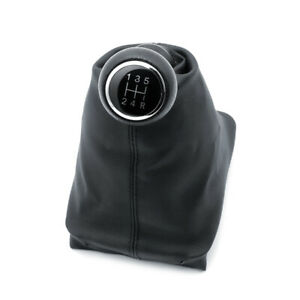 Car 5 Speed Manual Gear Stick Shift Lever Knob For Peugeot 206 207 406 2006 2013