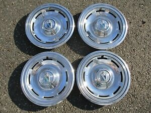 Genuine 1978 To 1980 Buick Regal 14 Inch Hubcaps Wheel Covers Set