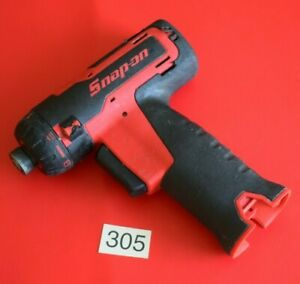 Snap On Tools 14 4v Battery 1 4 Hex Microlithium Cordless Screwdriver 305