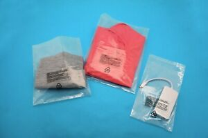 Poly Bags Resealable Suffocation Warning Clear Lip Tape 1 5 Mil Shirt Apparel