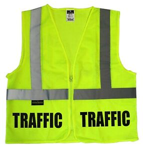 Traffic Safety Vest Parking Staff Valet Parking Vest High Visibility Vest