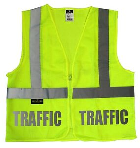 Traffic Staff Safety Vest With Reflective Design High Visibility Vest