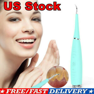 Electric Ultrasonic Tooth Stain Remover Teeth Whitening Dental Cleaning Tool