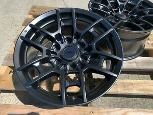 17x9 0 6x139 7 Pro Style Matt Black Wheel Fits Toyota Fj Cruiser Sequoia Gx470