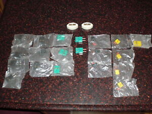 Lot Of 23 Type R S J K Thermocouple Plugs Jacks Ceramic Blocks See List Below