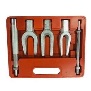 5pcs Tie Rod Ball Joint Pitman Arm Seperator Remover Kit Pickle Fork Set Us