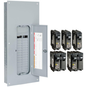 Indoor Square d 225 amp 30 space 60 circuit Home Main breaker Load Panel Box New