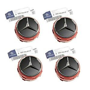 Genuine Set Of 4 Center Cap Wheel Hub Cover For Mercedes W176 W246 W205 W212