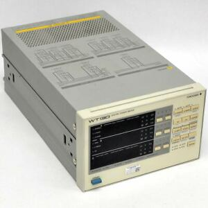 Yokogawa Wt130 Digital Power Meter 253503 c1 0 d Three Phase W Gp ib As is