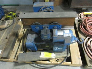 Shaw box Lifttech 2 Ton Electric Cable Hoist And Trolley Model 110101 15