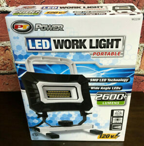 Performance Tool W2239 Portable Led Work Light New In Box