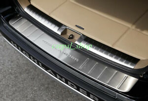 2pcs Rear Bumper Protector Sill Plate Cover For Toyota Highlander 2008 2012 2013