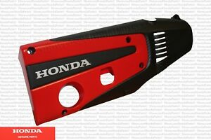 Genuine Honda Oem Red Top Engine Cover Plate Fits Civic Type R 12500 5bf A01