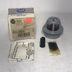 Allen Bradley 800h np50r Pushbutton Switch Cap 800hnn50r Series A New