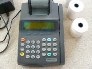 Pos System Nurit 2085 3 Rolls Of Paper No Box Used