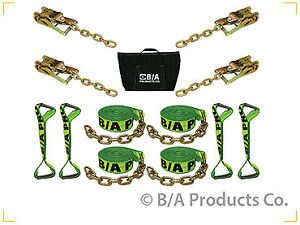 Ba Products Hi Viz 38 200c 8 Pt Rollback Tie Down For Flatbed Tow Truck