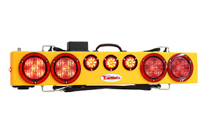 Tow Mate Wireless Tm36li Lithium Battery Light Bar With Strobes And 7 Pin Trans