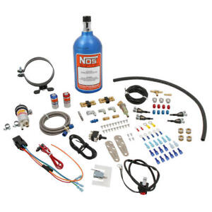 Nos Nitrous Oxide Injection System Kit 03001nos 17 Hp Wet