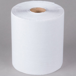 12 Pack Bulk Wholesale 8 White Hardwound Paper Towel Janitorial 600 Feet roll