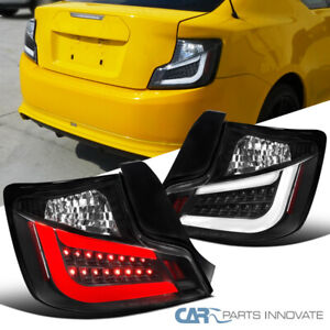For 11 13 Scion Tc All Black Led Drl Tail Lights Reverse Brake Lamps Pair