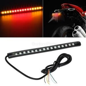 8 Rear Integrated Indicator Brake Led Strip Bar Light For Honda Motorcycles